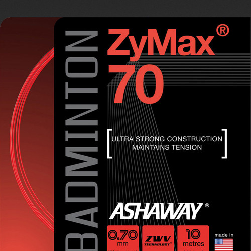 Ashaway badmintonsnaar ZyMax 70