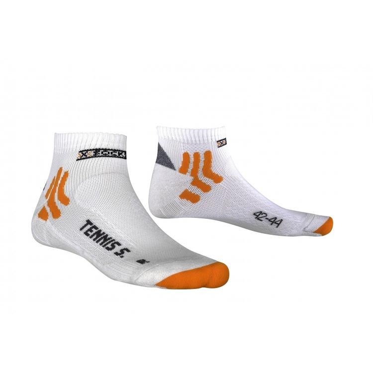 X-Socks Tennis Silver wit