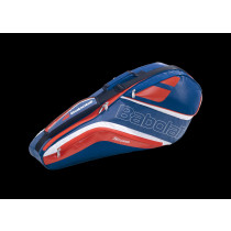 Babolat Racketholder X4 Badminton Team Line navy blue/red