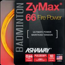Ashaway ZyMax 66 Fire Power 10m