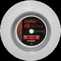 Ashaway ZyMax 66 Fire Power 200m wit