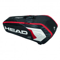 Head Djokovic 6R combi zwart/wit