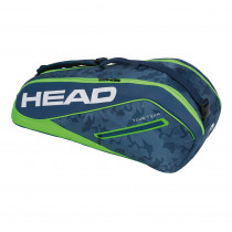 Head Tour Team 6R Combi donkerblauw-groen