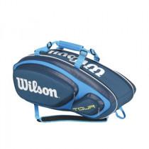 Wilson Tour V 9 pack blauw