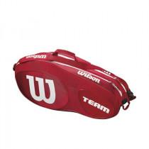 Wilson Team III 6 pack rood