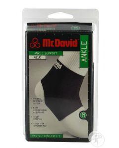 McDavid 431- Enkelondersteuning Zwart