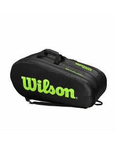 Wilson Team 3 Comp Bag zwart/groen