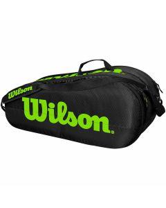 Wilson Team 2 Comp Bag zwart/groen