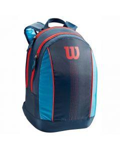 Wilson Junior Backpack navy-blauw-rood