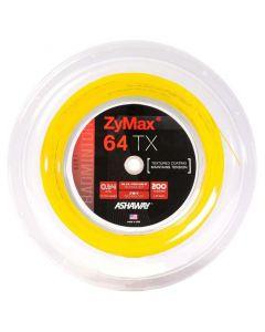 Ashaway ZyMax 64 TX Fire 200m geel
