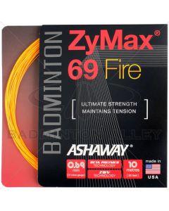 Ashaway ZyMax 69 Fire 10m Oranje