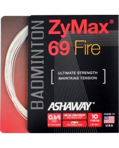 Ashaway ZyMax 69 Fire 10m Wit